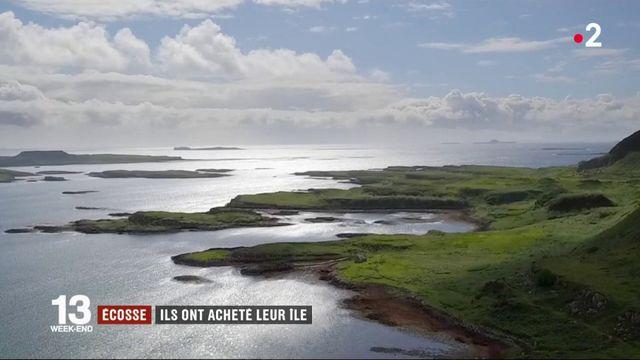 Écosse : des habitants rachètent leur île