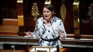 Valérie Rabault, en juillet 2020, à l'Assemblée nationale. (THOMAS PADILLA / MAXPPP)