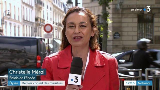 Elysée : dernier Conseil des ministres avant les vacances du gouvernement