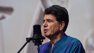 Le chanteur, musicien et compositeur iranien Mohammad Reza Shajarian, à Téhéran le 20 octobre 2008. (ALIREZA SOTAKBAR / ISNA / AFP)