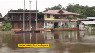Inondations enGuyane (FRANCEINFO)