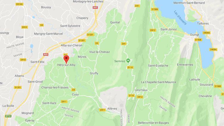 Héry-sur-Alby, en Haute-Savoie. (GOOGLE MAPS)