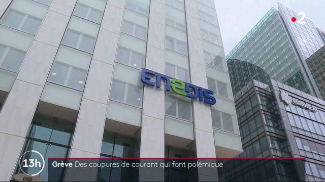Grève : des coupures de courant revendiquées par la CGT font polémique