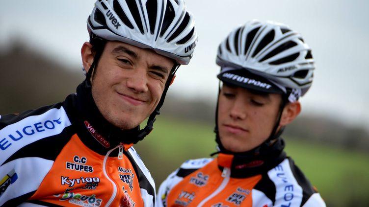 Les frères jumeaux français Mathieu et Maxime Le Lavandier font partie de l'effectif.  (PICASA)