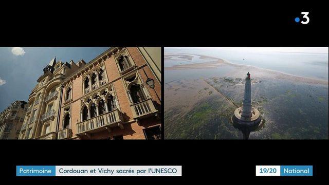 Patrimoine : le phare de Cordouan et Vichy rejoignent le patrimoine mondial de l'UNESCO