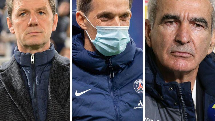 Stéphane Jobard (Dijon), Thomas Tuchel (Paris) et Raymond Domenech (Nantes) ont tous les trois été licenciés en cours de saison.