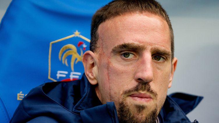 (Franck Ribéry a déclaré forfait pour la Coupe du Monde © Maxppp)