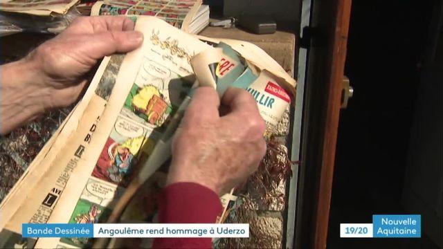 Angoulême se souvient d'Uderzo