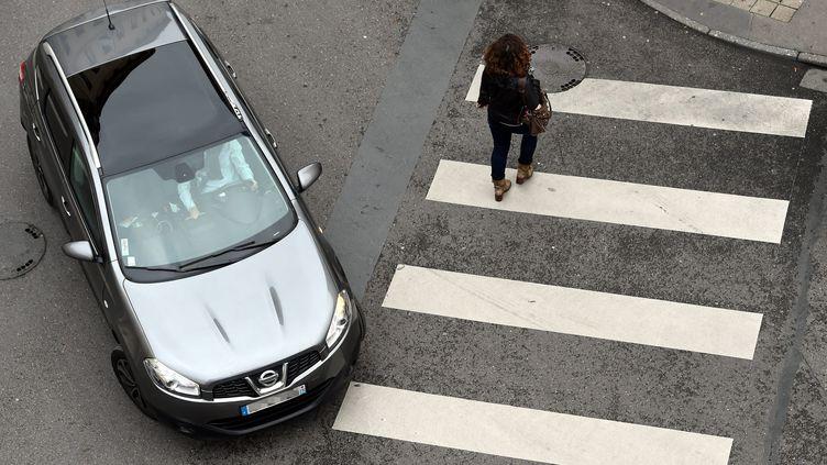 """Selon """"Auto Plus"""", un radar à passage piéton sera installé en janvier 2017, à Calais (Pas-de-Calais). (MAXPPP)"""