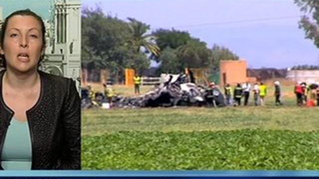 Crash A400M: Grande émotion en Espagne