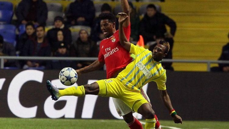 Benfica et FC Astana à la lutte