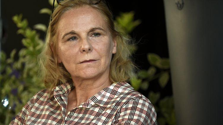 Camille Laurens lors de la 42e édition du festival Livre sur la place à Nancy le 12 septembre 2020. (ALEXANDRE MARCHI / MAXPPP)