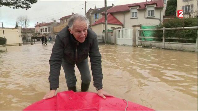 Inondations en Seine-et-Marne : le cas de Condé-Sainte-Libiaire