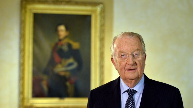 Le roi des Belges, Albert II, le 3 juillet 2013. (ERIC LALMAND / BELGA)
