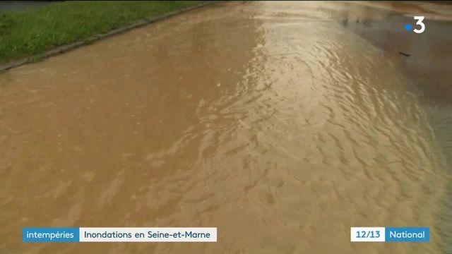 Intempéries : brutales inondations en Seine-et-Marne
