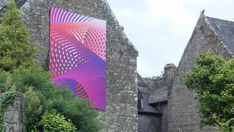22e édition du festival Art Chemin faisant à Pont-Scorff dans le Morbihan (France 3 Grand Ouest)
