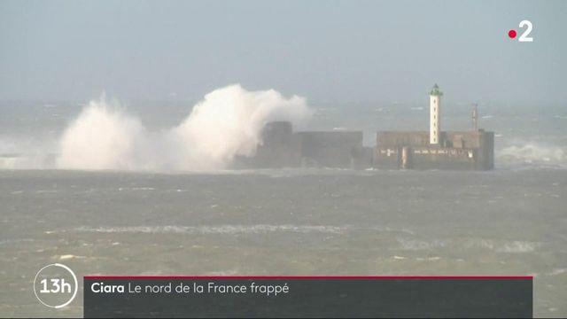Ciara : le nord de la France frappé par la tempête