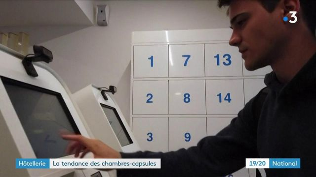 Hôtellerie : la nouvelle tendance des chambres capsules