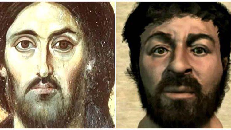 2 images du Christ : de l'icône à la probable réalité  (France2/culturebox)