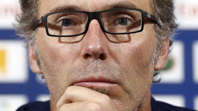 L'entraîneur du PSG, Laurent Blanc