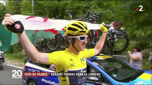 Tour de France 2018 : Geraint Thomas dans la lumière