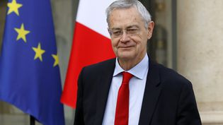 Jean-Louis Bianco à l'Élysée, en avril 2017. (PATRICK KOVARIK / AFP)