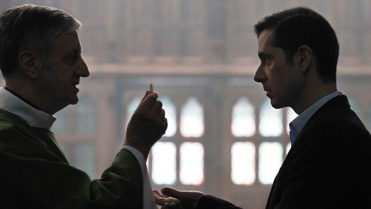 """Melvil Poupaud (à droite) dans """"Grâce à Dieu"""", film de François Ozon.  (Mars Films)"""