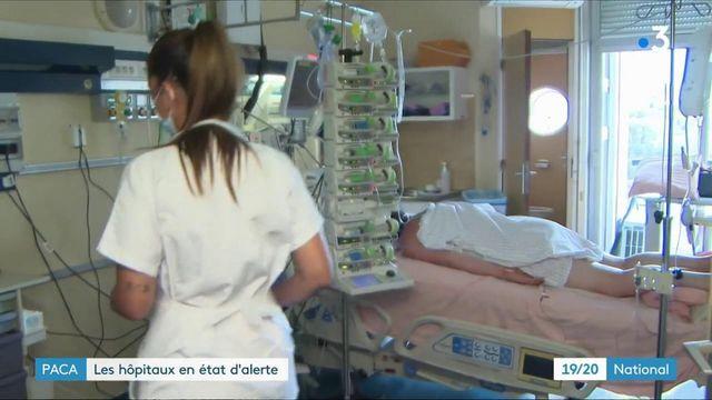 Covid-19 : hausse de contaminations inquiétante en PACA et Haute-Corse