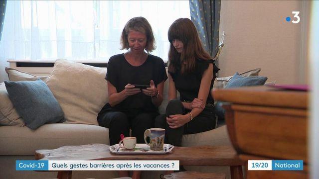 Coronavirus : les Français appliquent-ils les gestes barrières depuis leur retour de vacances ?