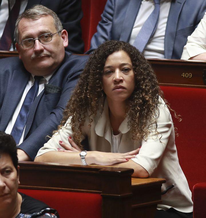 Aude Amadou, députée de la 4e circonscription de la Loire-Atlantique (LREM). (JACQUES DEMARTHON / AFP)