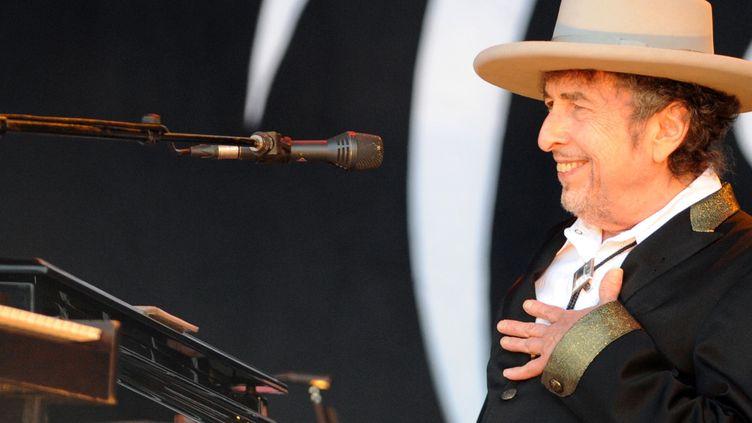 Bob Dylan aux Vieilles charrues en 2012  (Fred Tanneau/AFP)