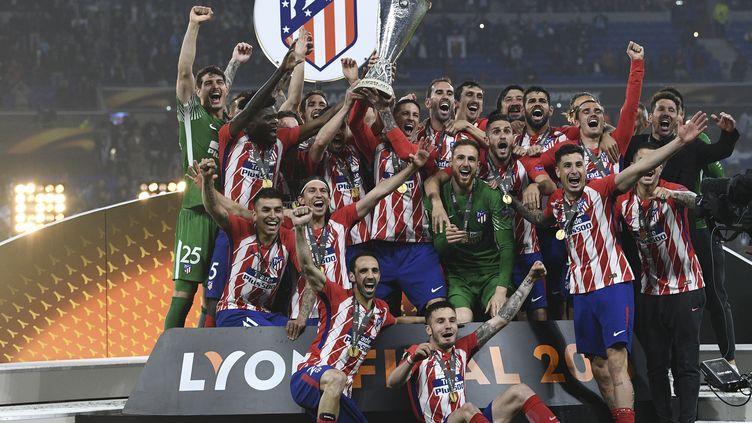 L'Atlético de Madrid, vainqueur de la Ligue Europa 2018. (FRANCK FIFE / AFP)