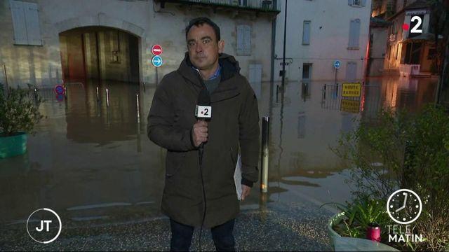 Crues: la Gironde se réveille une nouvelle fois les pieds dans l'eau