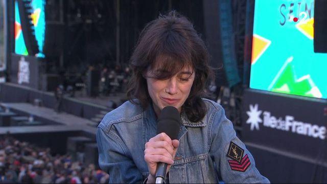 Rock en Seine : Charlotte Gainsbourg monte sur scène