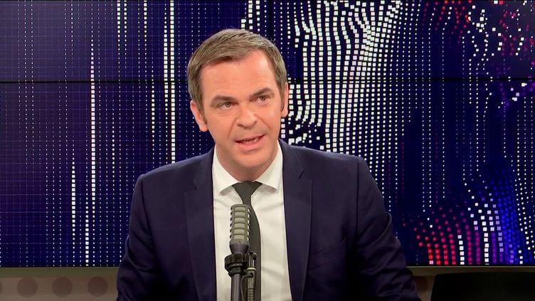 Olivier Véran, ministre de la Santé, sur franceinfo le 13 octobre 2021.  (FRANCEINFO / RADIO FRANCE)