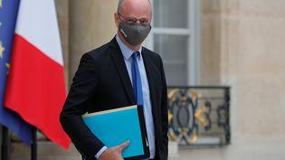 Jean-Michel Blanquer, ministre de l'Education nationale, le 23 septembre 2020, à Paris. (GEOFFROY VAN DER HASSELT / AFP)