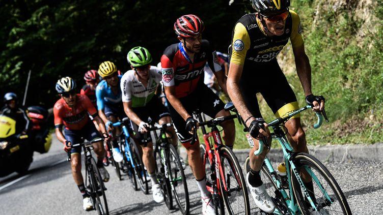 Le Tour de France 2018 va se jouer dans les Pyrénées (JEFF PACHOUD / AFP)
