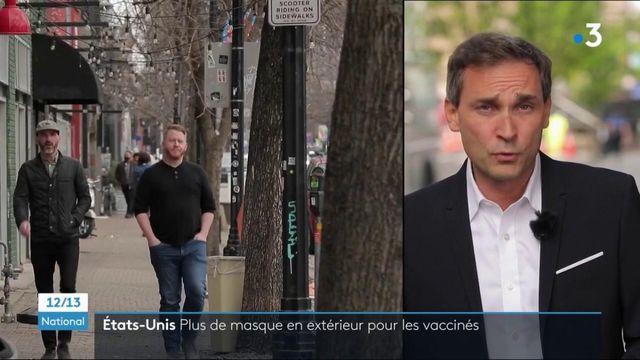 Covid-19 : aux Etats-Unis, plus de masque en extérieur pourles personnes vaccinées