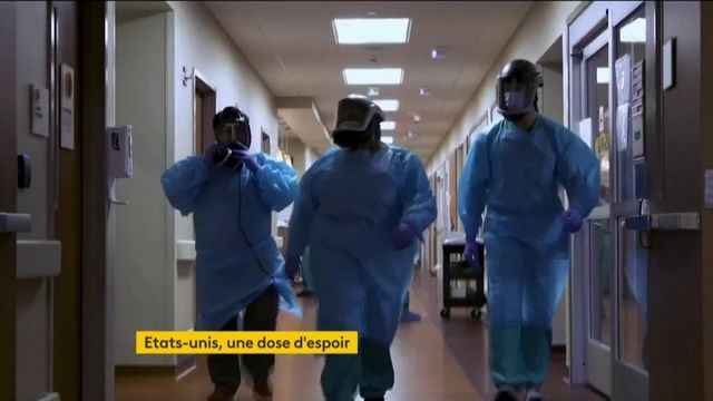 USA : la baisse du nombre de contaminations au Covid-19 incite à l'optimisme