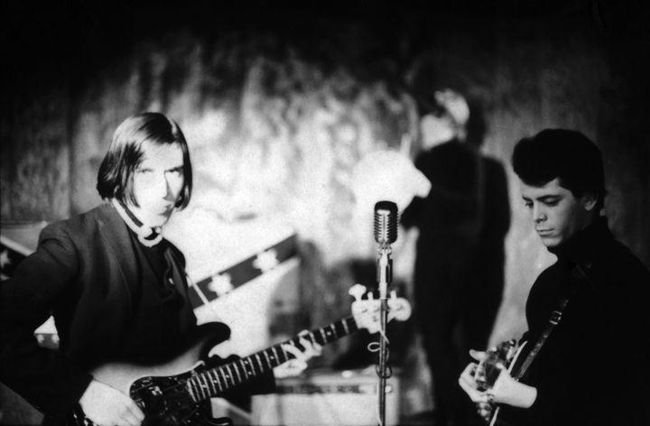 John Cale, Maureen Tucker et Lou Reed au Café Bizarre (New York) en 1965.  (Adam Ritchie)