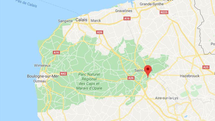 Blendecques, Pas-de-Calais. (CAPTURE D'ÉCRAN / GOOGLE MAPS)