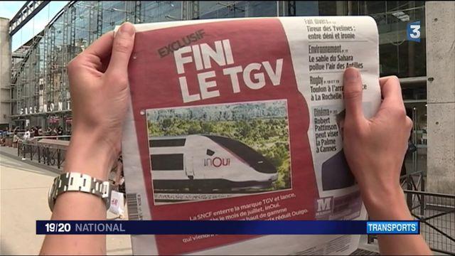Transports : le TGV devient InOui