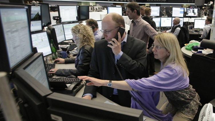La Bourse de Francfort - 10/05/10 (AFP Martin Oeser)