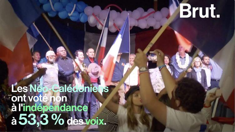 VIDEO. En Nouvelle-Calédonie, les loyalistes et les indépendantistes s'opposent sur l'indépendance (BRUT)