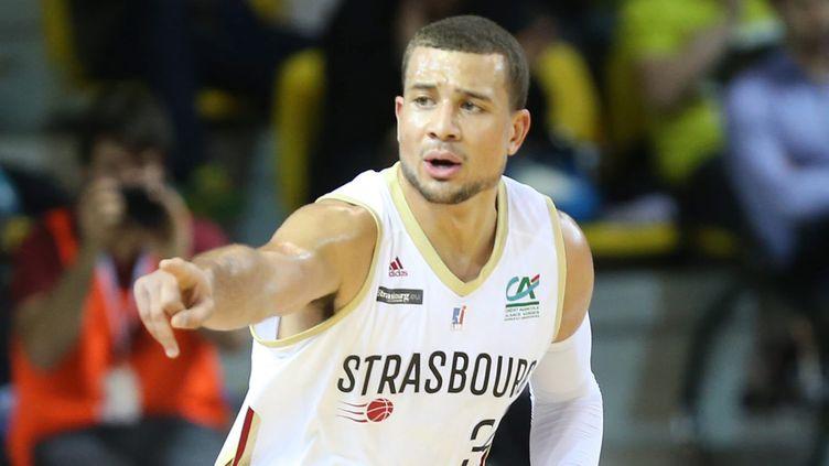 Kyle Weems et les Strasbourgeois ont réussi un gros coup (JEAN-MARC LOOS / MAXPPP)