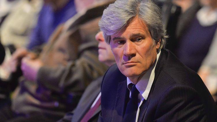 Le ministre de l'Agriculture Stéphane Le Foll, le 10 mai 2017, lors d'un rassemblement au Mans (Sarthe). (CITIZENSIDE / FRANCOIS NAVARRO)