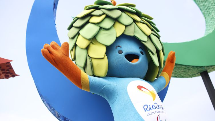 Tom, la mascotte des jeux Paralympiques (GUSTAVO SEREBRENICK / BRAZIL PHOTO PRESS)