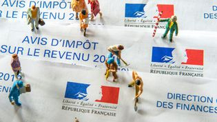 Le prélèvement à la source de l'impôt sur le revenu doit entrer en viguer le 1er janvier 2019 en France. (PHILIPPE HUGUEN / AFP)