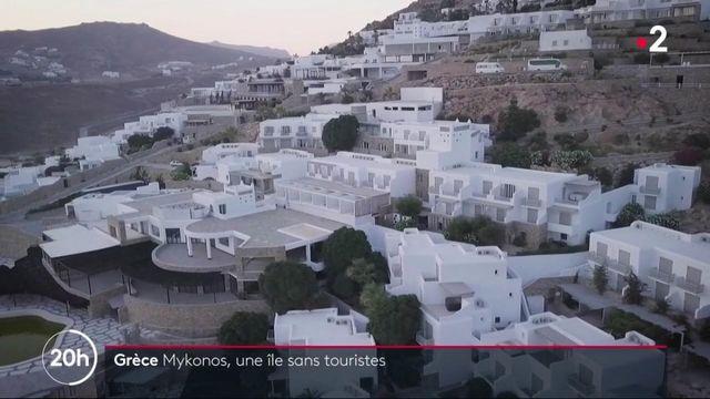 Mykonos, une île sans touristes