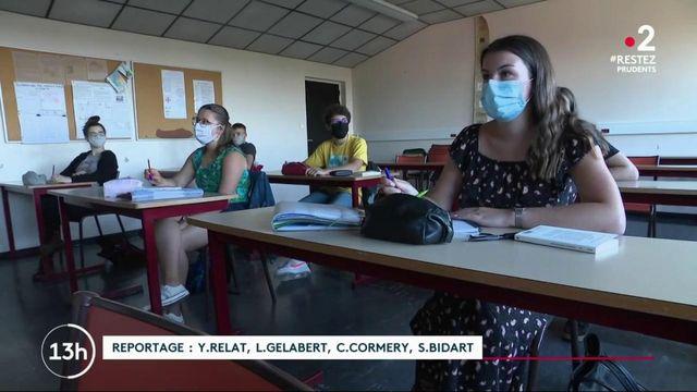 Lycées : une rentrée des classes au compte-gouttes